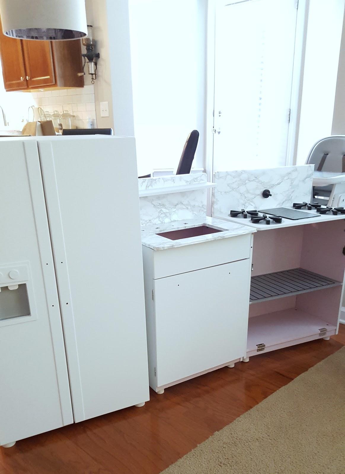 Duo Ventures: DIY Play Kitchen Makeover