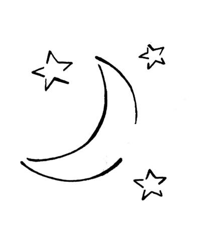 Dibujos De Lunas Dibujo De Media Luna Dibujos Para Tatuajes Pictures