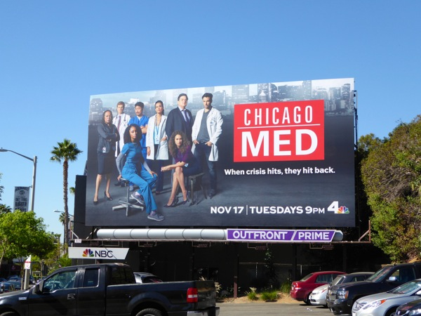 Chicago Med season 1 billboard