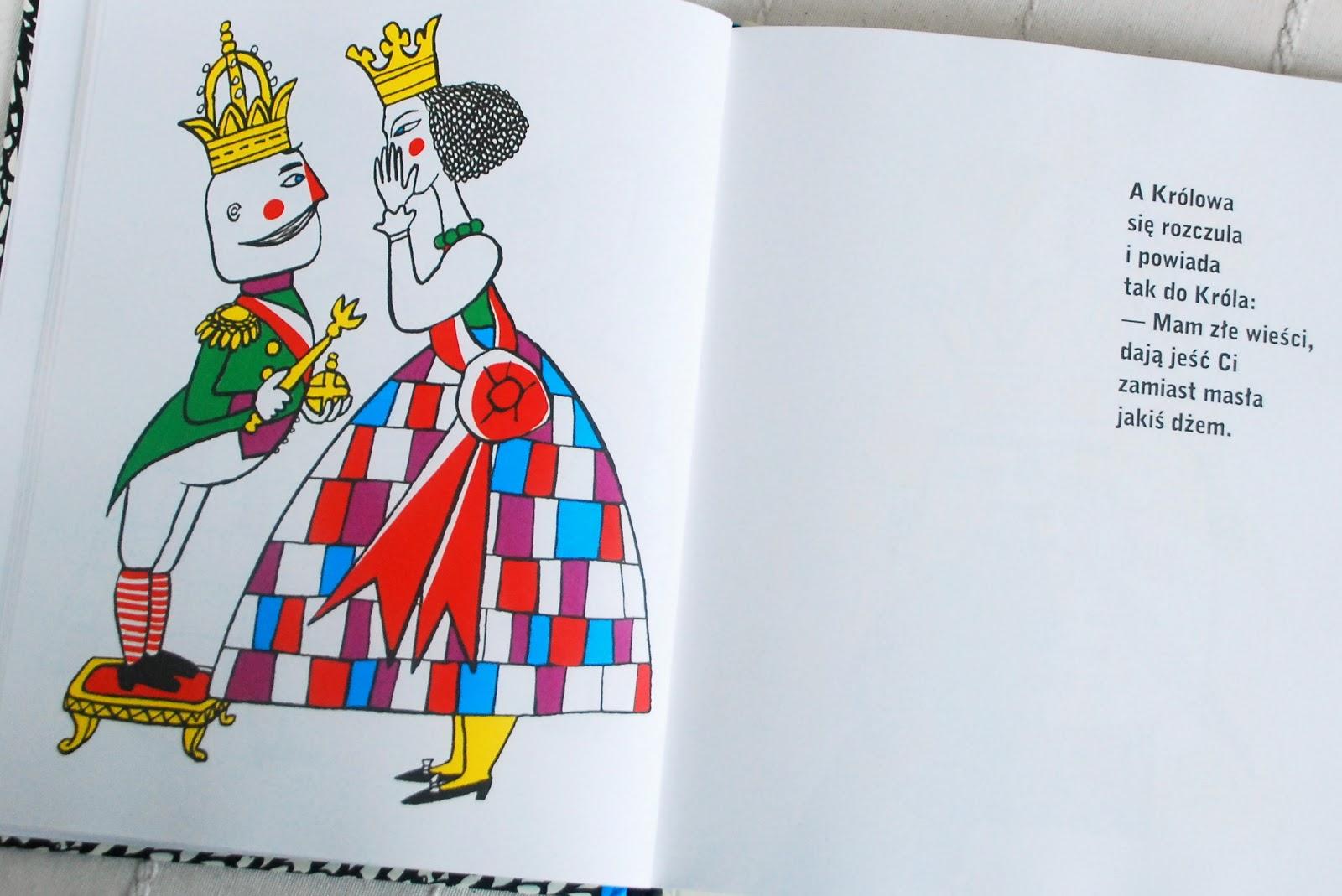 Wnętrze książki – Królowa i Król
