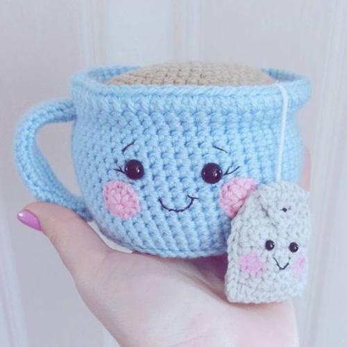 bucket list_advice for teens _ learn crocheting _ Beautifulskills.com Tea Cup Amigurumi