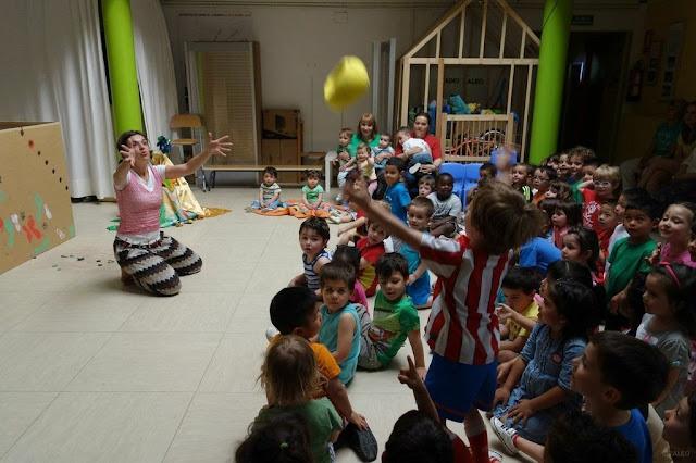 teatro para bebés, escuela infantil, teatro infantil
