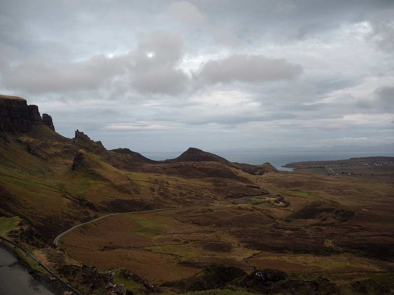 Quiraing view, Isle of SKye