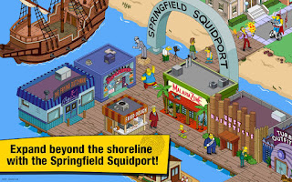 screenshot The Simpsons Tapped Out MOD APK