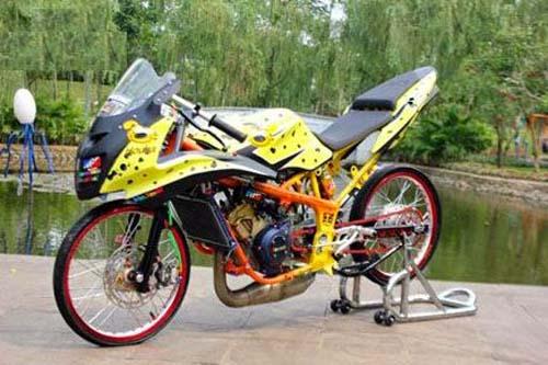 Modifikasi Ninja Rr Mono 250 150 Fi Full Fairing Bagus