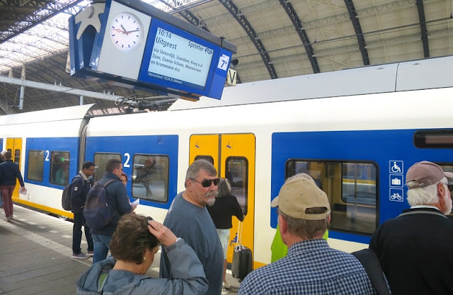 Viagens de trem de Amsterdã à Bruxelas