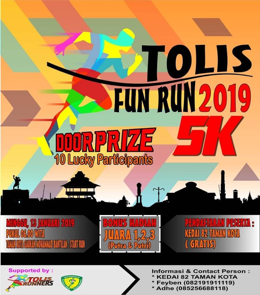 Tolis Fun Run • 2019
