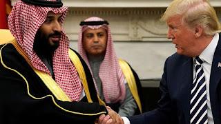 "Trump accused of putting ""Saudi Arabia first"""