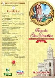 Festa de São Sebastião em Picuí começa nesta sexta (12)