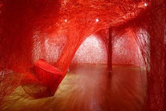 Expo : Chiharu Shiota, Destination - Galerie Daniel Templon - Jusqu'au 22 juillet 2017