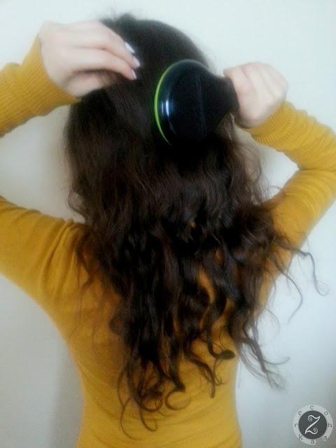 KROK 1: czeszemy włosy