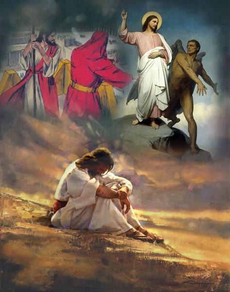 Resultado de imagen para tentaciones de jesus