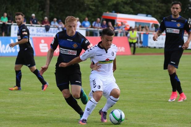 TuS Koblenz verliert 1:2 gegen Freiburg