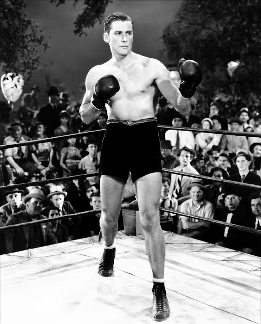 Errol Flynn in Gentleman Jim (1942)