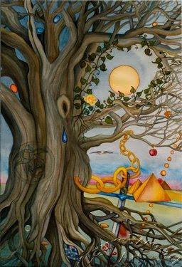 Free Cards Winner ~ Featured Artist Lynne M. Taylor of Laurelwood Art
