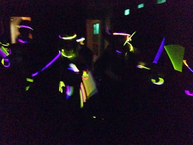 Glowstick party