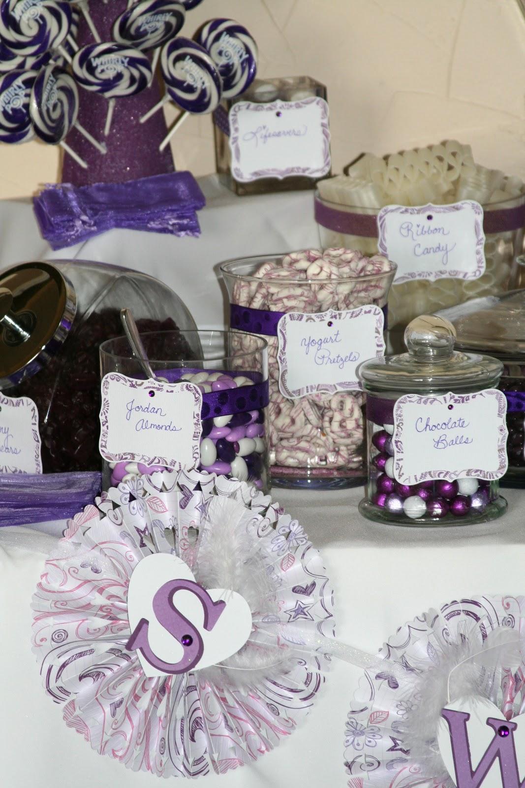 Averylee Designs Candy Buffet Wedding Reception