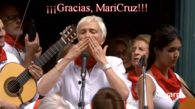 El adiós de MariCruz Corral