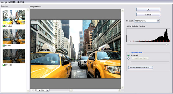 Creating an HDR effect from a single image