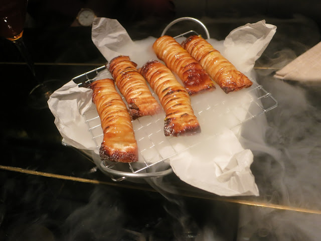 Citrus Cheese Filo Cigars