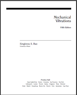 Mechanical Vibrations Fifth Edition by S.S Rao EBook