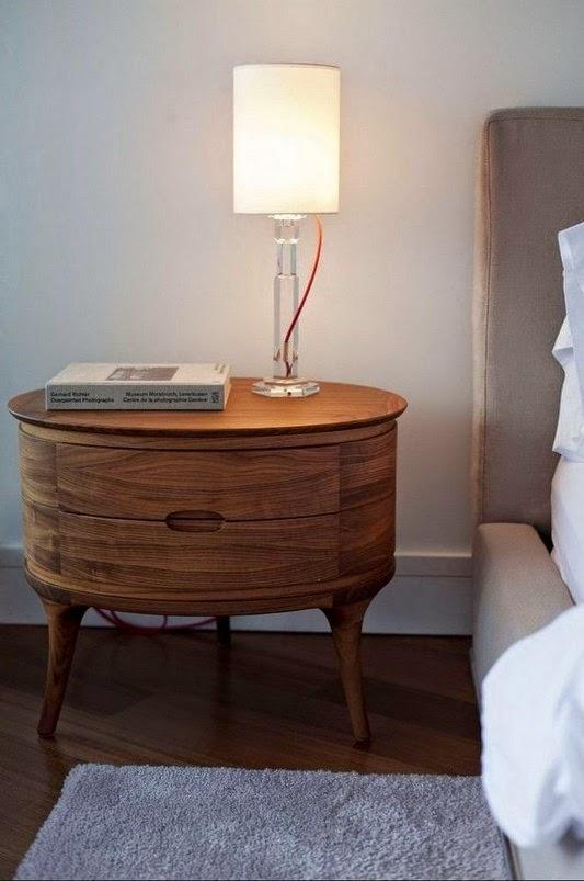 sofá Casa contemporânea com design feminino