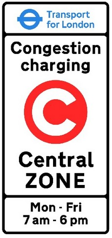 congestion charge Congestion charging zone in central london image: transport for london the charge covers a 21km² area in london it's a simple system: if you enter the zone between 7am and 6pm on a weekday, you pay a flat daily rate.