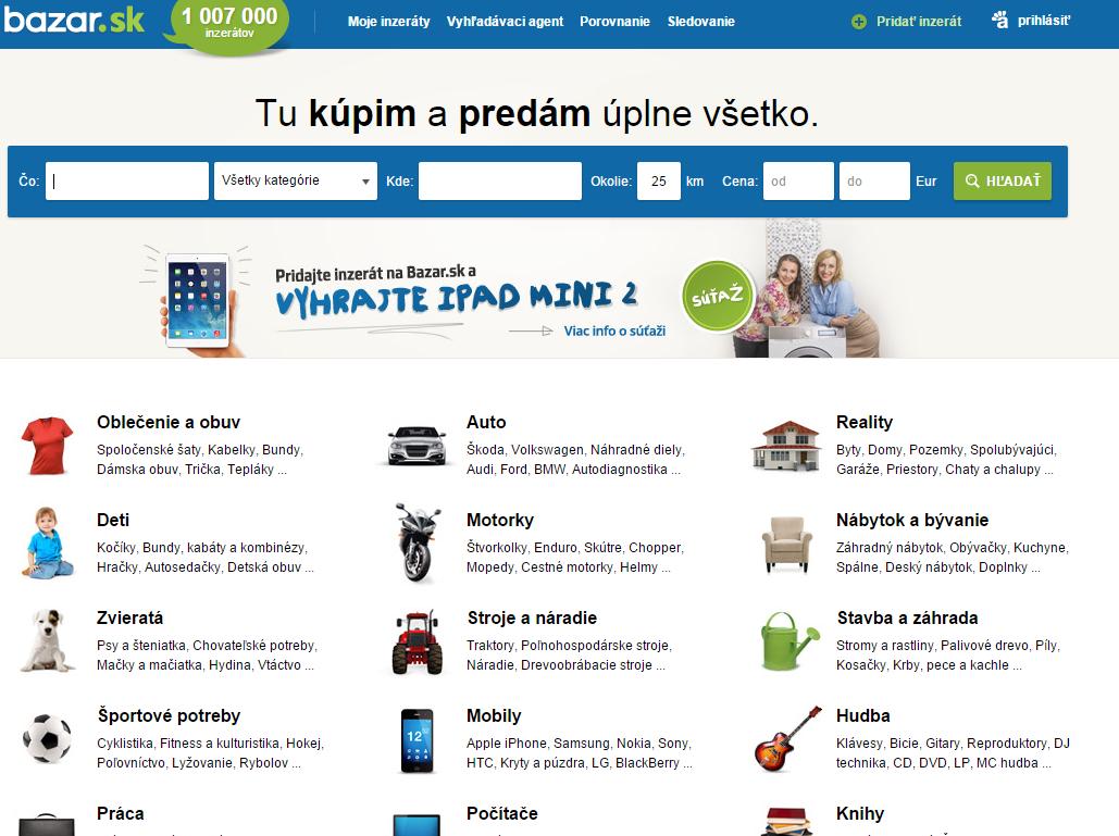 Martin Kužela s blog  Porovnanie www.bazos.sk a www.bazar.sk a2694ff819c