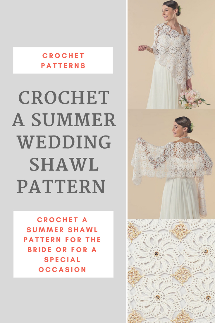 Crochet a Summer Shawl Pattern