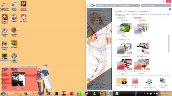 [Theme Win 7] Shokugeki no Shouma by Eldiaz7 5