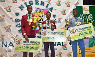 Nigeria Spelling Bee Competition Registration Forms & Guidelines - 2018/2019