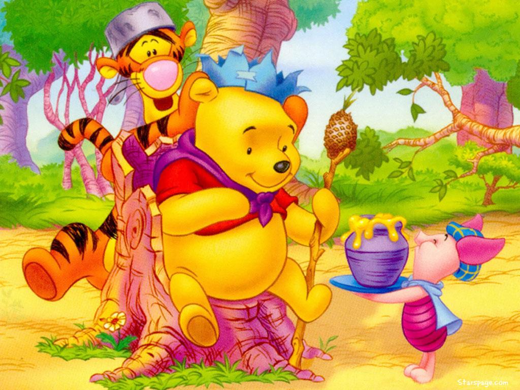 Wallpaper Winnie The Pooh: Hd Wallpaper: Cartoon Wallpapers 2012