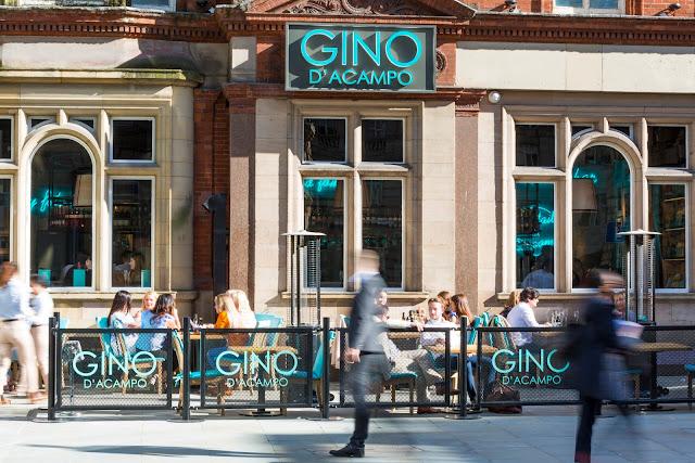 Gino D'Acampo My Restaurant Liverpool