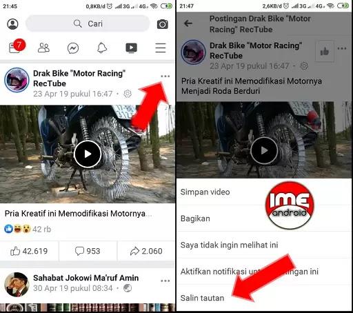 Download video di fb