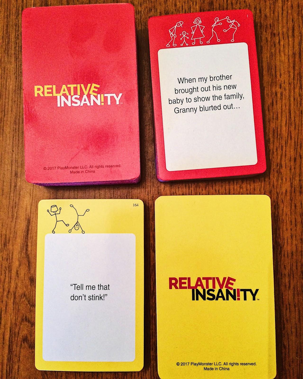 Relative Insanity Review - EverythingBoardGames com