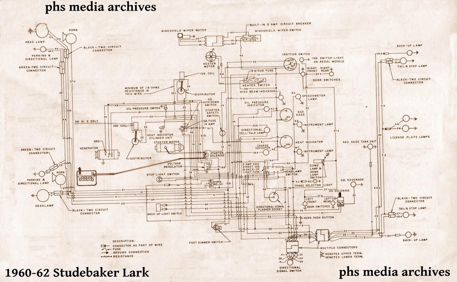 medium resolution of 55 studebaker wiring diagram wiring diagram datasourcetech series studebaker lark u0026 cruiser wiring diagrams 55