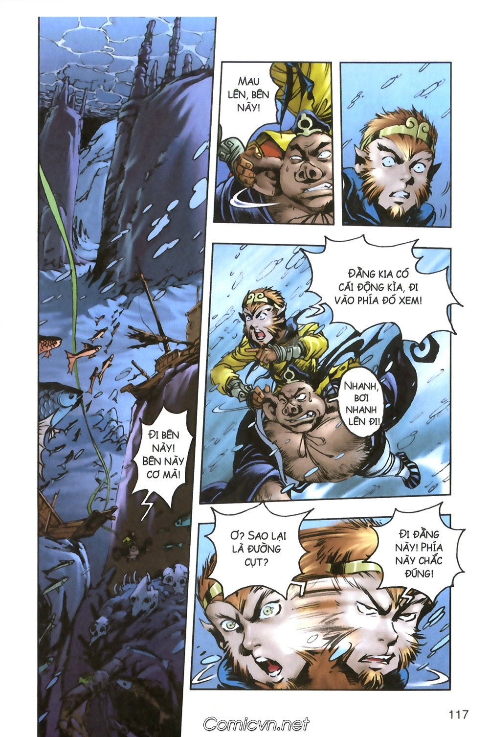 Tây Du Ký màu - Chapter 94 - Pic 14
