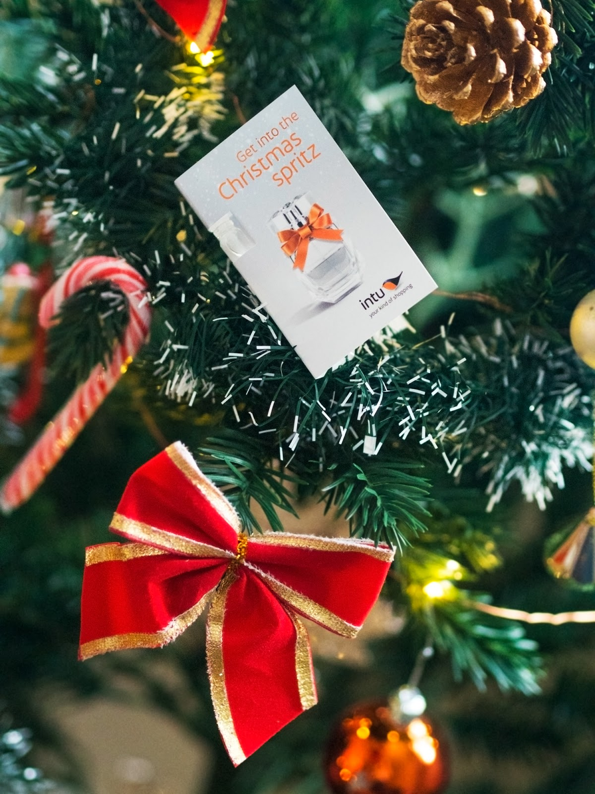 Get into the Christmas Spritz with Intu & Penny Price Aromatherapy
