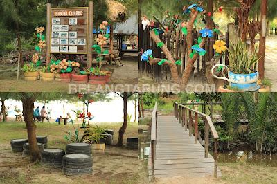 Dekorasi Warna Warni Pantai Cunang