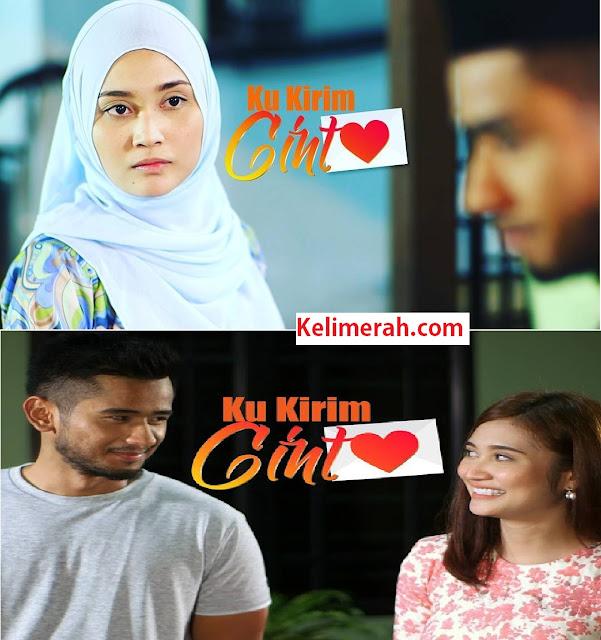 Drama Ku Kirim Cinta Lakonan Ayda Jebat, Redza Rosli