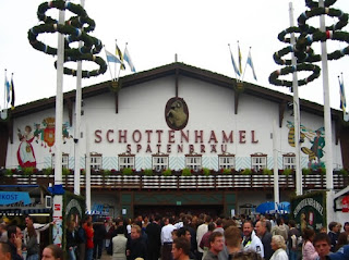 Schottenhamel tent which opened in 1867 by Andreas Steinhoff