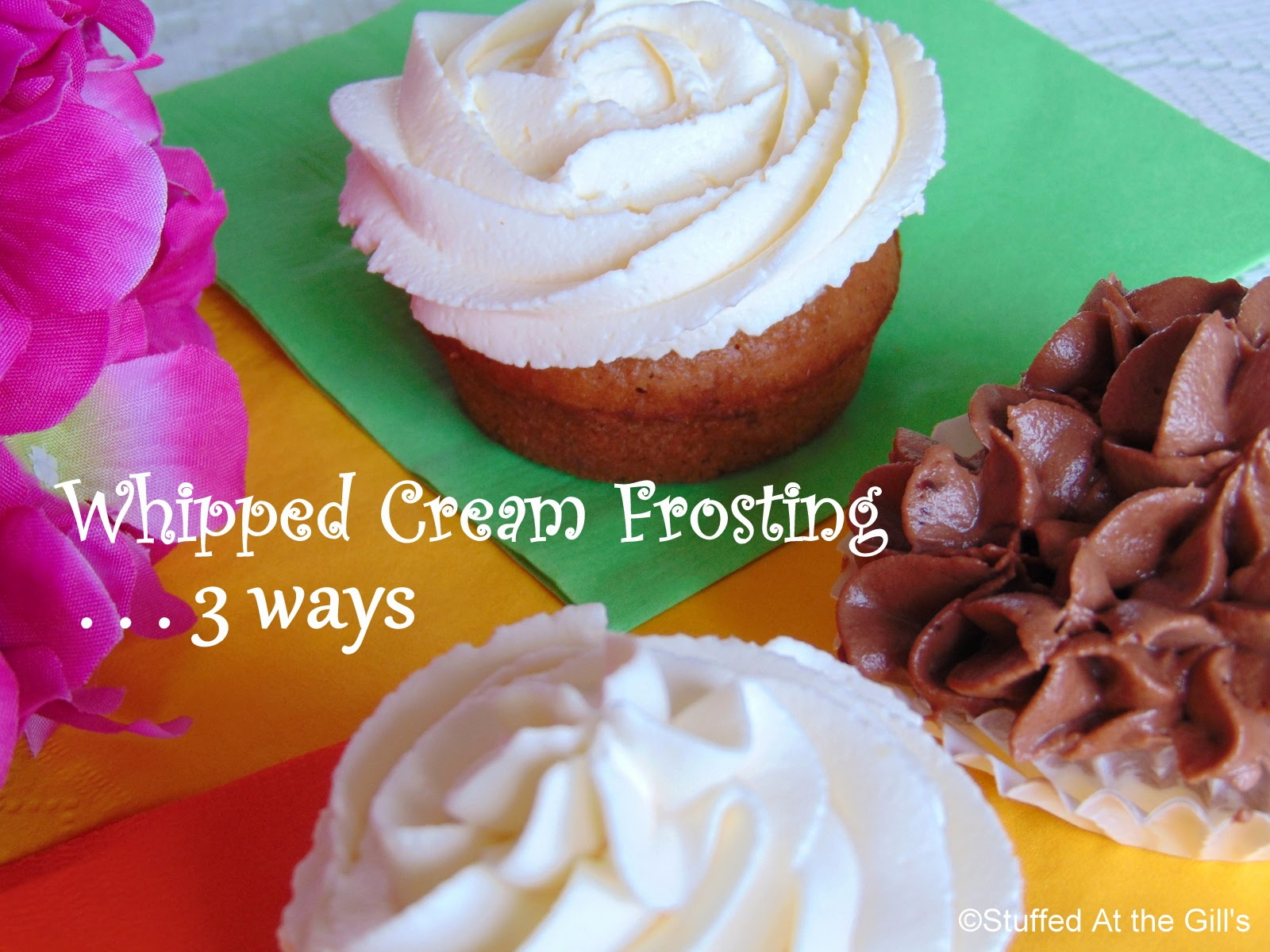 how to make whipped cream frosting for wedding cake stuffed at the gill s frosting 3 ways 16063