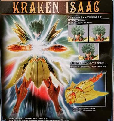 Caja de Isaak de Kraken EX