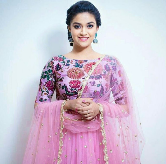 Indian Actress Keerthi Suresh HD Wallpapers
