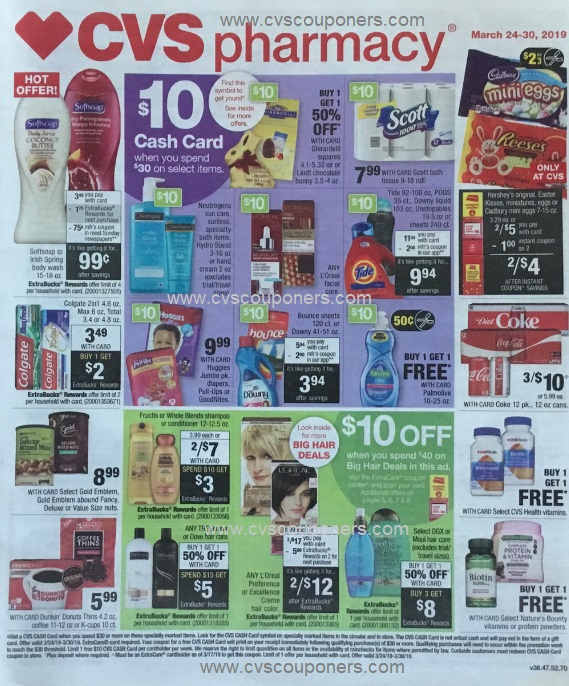 CVS Weekly Ad Preview - 3/24-3/30