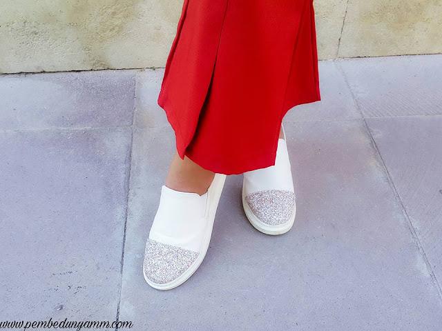 simli ayakkabılar