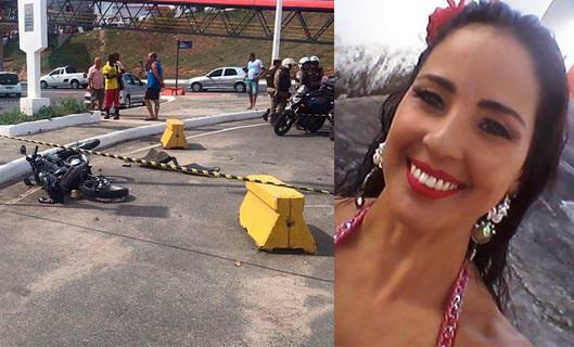 VÍDEO: Identificada professora ilheense de balé morta em choque de carro com mototáxi