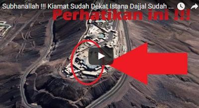 Hasil gambar untuk SUBHANALLAH !!! KIAMAT Sudah DEKAT, Istana DAJJAL Sudah BERDIRI Di MADINAH !! BAca Ulasannya..