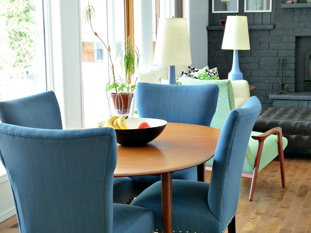 Tweed Dining Chairs