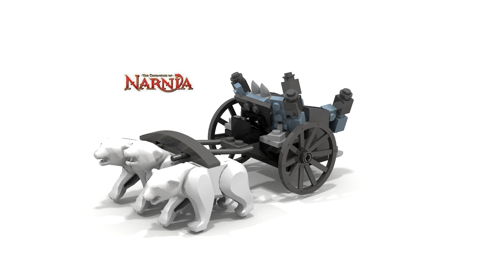 The Unofficial Lego Narnia Blog Lego Narnia Sets Rendered